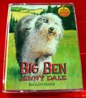 Jenny Dale Big Ben - Puppy Patrol Tape Audio Book Jan Francis Animal/Dog Story