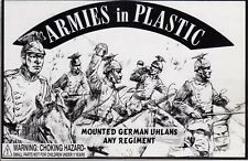 Armies in Plastic Mounted German Uhlans - Any Regiment 1/32 Scale 54mm