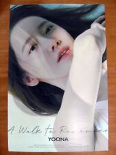 YOONA (SNSD) - A Walk To Remember [OFFICIAL] POSTER *NEW* K-POP