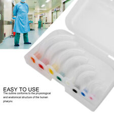 8pcs Oral Airway Kit Multi-color Disposable Gas Guide Tube for First Aid Airway