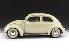 "1955 VW ""Kafer"" Beetle 1:18 Scale - Bburago Diecast Model Car (Cream)"