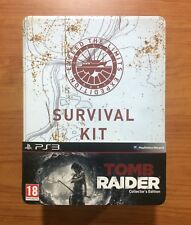 Tom Raider Collector's Edition Survival Kit PS3 Edición Inglesa - Juego Español