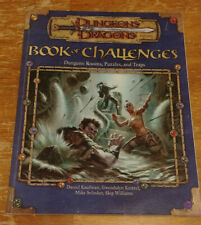 Dungeons & Dragons 3 3e 3rd - Book of Challenges (2002, first print) (Ex)