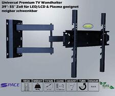 LCD LED TV Fernseher Wandhalter Wandhalterung 39 - 55 Zoll neigbar schwenkbar