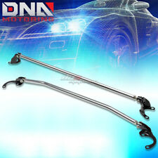 88-00 CIVIC/CRX EK 90-01 INTEGRA ALUMINUM FRONT+REAR UPPER TOWER STRUT BAR/ARM