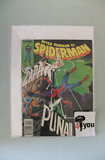 6.5 FN+ FINE+  SPECTACULAR SPIDER-MAN  # 64 SPANISH EURO VARIANT CP/YP  YOP 1982
