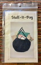 """NEW BOUTIQUE *STUFF-IT-BAG* 2 SIZE OPTION """"TOTE ALL* BAGS - PATERN by EVA HOLEN"""