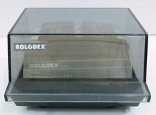 Vintage Rolodex Business Card File Covered Storage Alphabetical Unused Cards