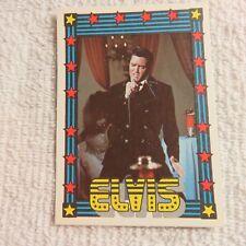 1978 Monty Gum - ELVIS PRESLEY - Club Card From Holland - (Blank Back) - Card #4
