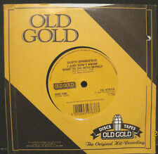 Dusty Springfield - I Just Don't Know What To Do With My - U.K. Old Gold 45rpm