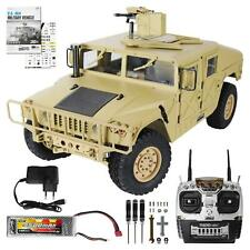 RC Military Truck 1:10 47cm Rock Crawler Metall Chassis Monstertruck 4WD AWD RTR
