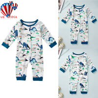 Newborn Baby Girl Boys Animals Romper Bodysuit Jumpsuit Playsuit Clothes Outfits