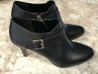 Vince Camuto Vonilesa Black Booties Womens Sz US 9 EU 40
