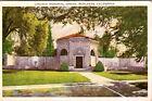 Redlands California Lincoln Memorial Shrine VTG  Postcard Tourism Advertising