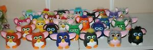 LARGE LOT OF FURBY MCDONALD'S HAPPY MEAL TOYS