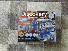 Discovery Mindblown Model Engine Kit Age 8+ 104 Piece Kit Moving Parts & Lights