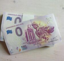 0 Euro Souvenir - Turkey -TUAD - Çanakkale (1915 - 1916) - 0 euro - Turkiye
