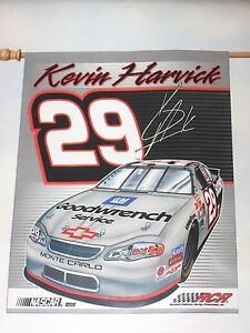 """Kevin Harvick (#29) Weather Resistant 27"""" by 37"""" Vertical Flag (Indoor Outdoor)"""