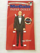 John Mccain Cindy Campaign Edition Unused Paperdolls