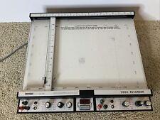 Houston Instruments Omnigraphic 2000 Graph Chart Recorder Plotter
