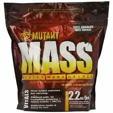 Mutant Mass 2.2kg 5lb Muscle Weight Gainer Chocolate