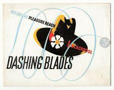 Dashing Blades 1938 Blackpool Pleasure Beach Ice Drome Souvenir Programme