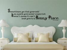 Outlander Inspired A Bonny Place Vinyl Wall Decal Sticker