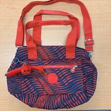 Kipling navy and red shoulder bag nina Monkey
