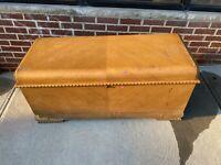 Antique Cedar Chest Staten Island pick up furniture Bargain wood trunk original