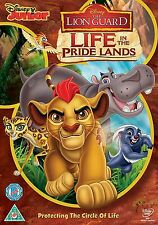 DISNEY  THE LION GUARD LIFE IN THE PRIDE LANDS NEW SEALED GENUINE UK DISNEY DVD
