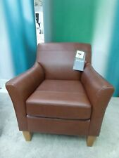 0ac90ed13fc BRAND NEW Corey JOHN LEWIS Armchair Contempo Castanga Chair Leather Tan