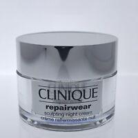 CLINIQUE Repairwear SCULPTING NIGHT Cream All Skin Types 1.7oz 50ml New in Box