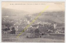 CPA 39330 MOUCHARD vue prise du Signal du Cadastre & Ligne de Chemin de Fer