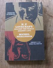 H.P LOVERCRAFT Michael Houellebecq- 1st 2005 PB - Stephen King - HORROR