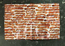 Bacon Poster Large New 34x22 Man Guy Cave Salted Cured Meats Pig Pork Iowa BBQ