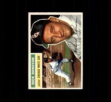 1956 Topps 18A Dick Donovan Gray Back EX #D403996