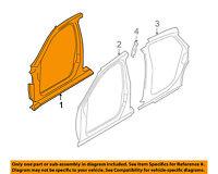 AUDI OEM 05-11 A6 Quattro-Aperture Panel Right 4F5809840