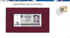 Banknotes of All Nations GDR East Germany 1975 5 Mark UNC P 27a IH368771
