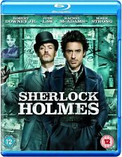 Blu-ray SHERLOCK HOLMES # Robert Downey jr., Jude Law ++NEU