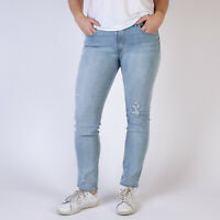 Levi's Mid Rise Skinny hellbau Damen Jeans 32/32