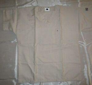 ScrubZone by Landau Unisex V neck Scrub Top w/ Pocket Style 71221 Sizes S to XL