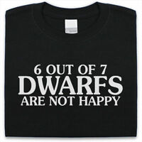 6 out of 7 Dwarfs T-Shirt Mens Womens Funny gift Present