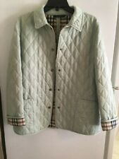 Great Condition Ladies Burberry Quilted Jacket, Size M