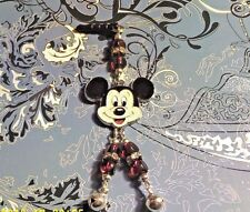 Mickey Bell Cell Phone Charm~Dust Plug Cover~All Phones++Free Ship