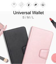 Hanman Universal Leather Wallet Flip Case Cover For HTC Desire 10 Pro D10i 64GB