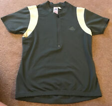 Adidas Size 14 Green Cycling Top