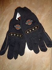Harley-Davidson Cut Resistant Kevlar Leather Palm Glove Size Mens Large