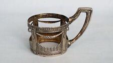 Teeglashalter  Silber 800  Empire Stil  Tea glass holder  Empire style