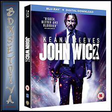 JOHN WICK - CHAPTER 2  **BRAND NEW BLU-RAY***