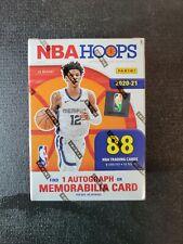 Panini NBA Hoops Basketball Blaster 2020-21 1 Auto Guarenteed